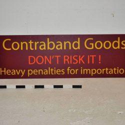 Customs Signs