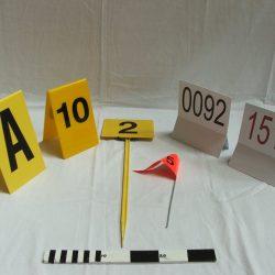 Crime Scene Markers & Metal Detectors