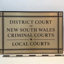 Law Court Signs